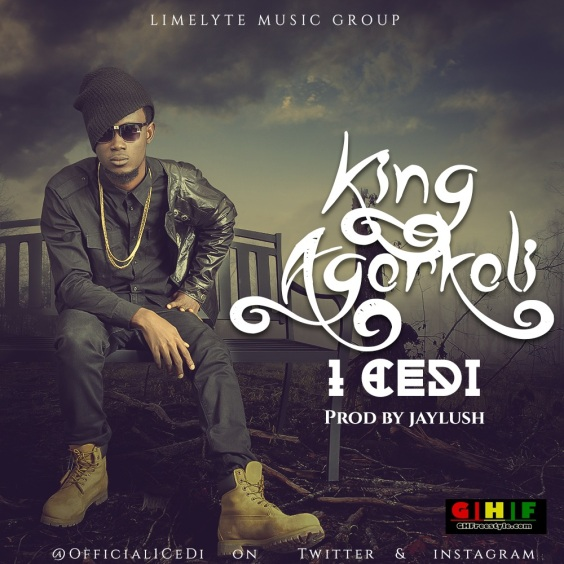 1CeDI - King Agorkoli(Prod. by Jaylush)(Ghfreestyle.com) gh freestyle album art